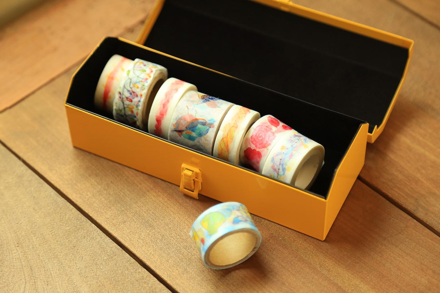 日本進口 MOTIF 便攜型工具箱 - 紙膠帶範例