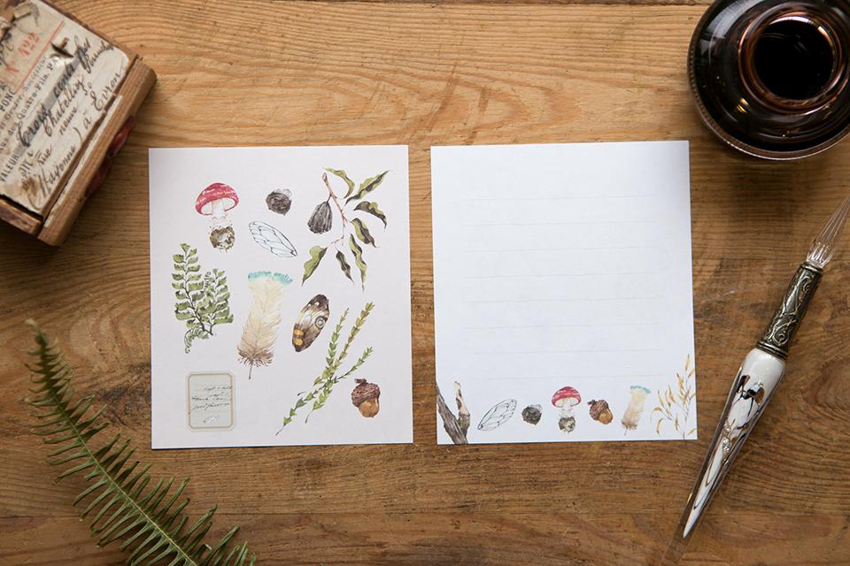 信紙組 - 森林採集